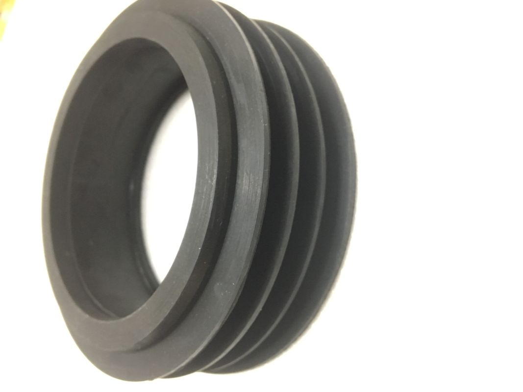 Wear Resistant Rubber Toilet Seal Flange Gasket Good Abrasion With Manual Installation