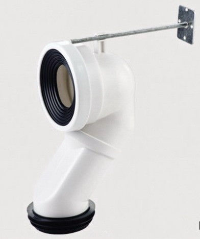 Durable Odorless Toilet Drain Pipe , Waste Pipe For Toilet Installation