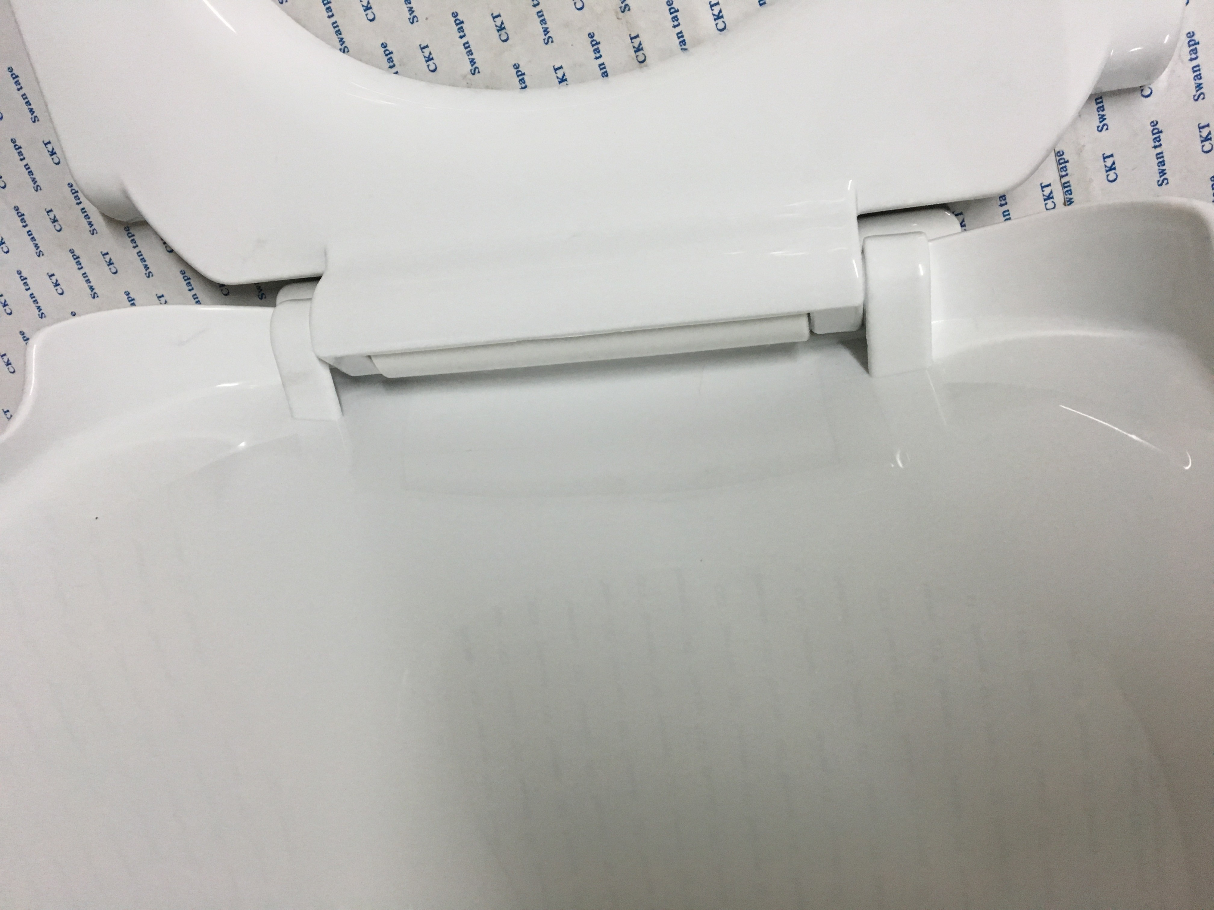 Easy Cleaning Western Toilet Seat Cover , Most Comfortable Toilet ...