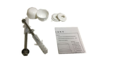 China Lightweight Toilet Mounting Hardware , Fast Installation Toilet Seat Fixing Bolts distributor