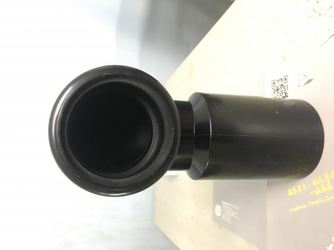 HDPE Toilet Drain Pipe 108mm Inside Diameter With NBR Epdm Rubber Ring