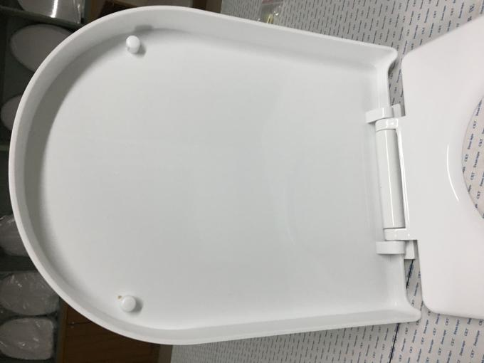 Quick Release D Shaped Toilet Seat Lid Scratch Resistance With Customized Packing