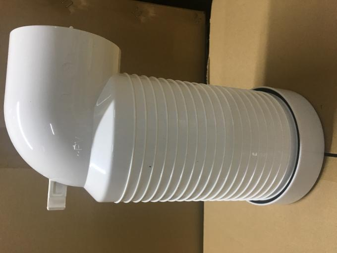 High Strength Plumbing Toilet Sewer Pipe With 20g Corrugated Pipe Body
