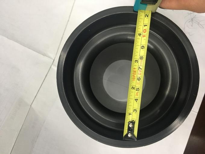 Long Black Straight Toilet Connector , Straight Outlet Pipe Connector High Precision Mold