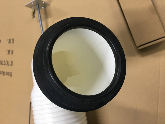 Professional PP Toilet Sewage Pipe , Connecting Toilet Pan To Soil Pipe