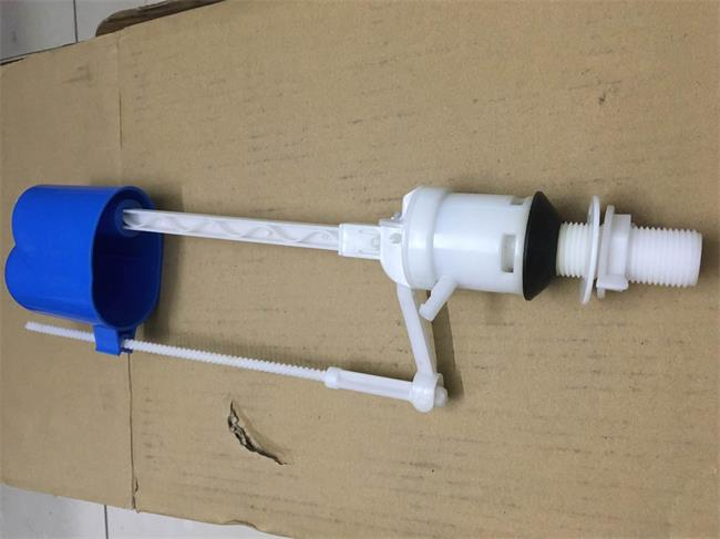 High Flow Blue Toilet Inlet Valve , Toilet Tank Fill Valve Non Pollution