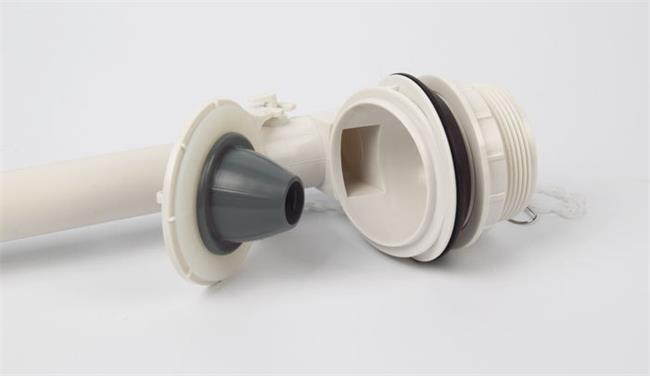 Single Row Toilet Flapper Valve , One Piece Toilet Drain Valve Replacement